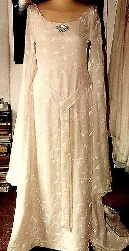 Galadrielkleid als Hochzeitskleid